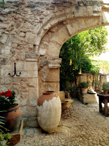 patio, mallorca, majorque, restauration,