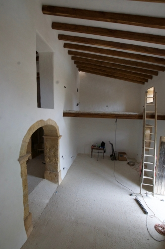 renovation, rehabilitation, restauration,Majorque, maison village, ferme